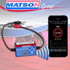 MATSON WIRELESS BLUETOOTH BATTERY MONITOR SENSE SYSTEM CARAVAN CAMPER 6 12V VOLT