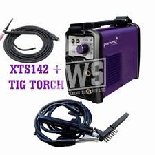 Parweld Xts142 inversor ARC soldador 230V con cables & auto luz reactivo casco