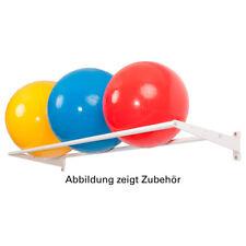 Soporte de pared base módulo pelota estante para pared estante para gimnasios, 4-tlg., 50x175 cm