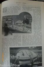 Early Easter Eggs Hartl History Artist Menpes Japan Rare Antique 1897 Article