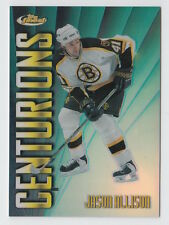 1998/99 TOPPS FINEST JASON ALLISON CENTURIONS REFRACTOR 71/75 CARD #C8
