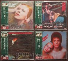 Sealed! Lot of 4 DAVID BOWIE JAPAN Promo CD Rock You! 1500 OBI '05 limited issue