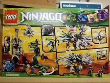 NEW Sealed LEGO 9450 Ninjago - Epic Dragon Battle, Retired, Green Ninja