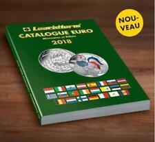 Catálogo de monedas y billetes €URO. Leuchtturm.Edición 2018. NOVEDAD EDITORIAL