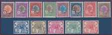 1927 INDOCHINE Taxe N°44/56* TB Série, FRENCH INDOCHINA Postage Due J44-J56 MLH
