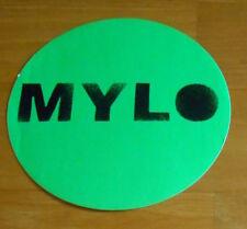 "Mylo Destroy Rock & Roll Sticker Original Promo (circle) 5"""
