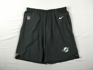 Miami Dolphins Nike Shorts Men's Gray Dri-Fit Used Multiple Sizes