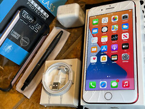 Apple iPhone 7 Plus (128gb) World Unlocked: Verizon (A1661) Product RED {iOS14}