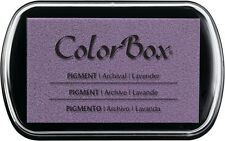 Color Box Pigment Ink Stamp Pad LAVENDER 15037 BRAND NEW!