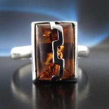 Bernstein Silber 925 Ring Sterlingsilber Damen Schmuck verschiedene Größen R122