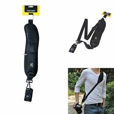 Quick Rapid Release Neck Shoulder Camera Sling Strap Belt for Canon Nikon Sony