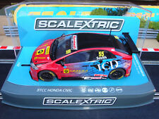 NEW BOXED SCALEXTRIC BTCC HONDA CIVIC TYPE R REF C3860 WITH LIGHTS AND DPR