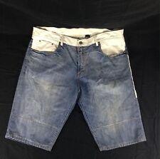 Winchester Men's Faux Leather Denim Jean Shorts Size 42
