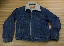 Levis Denim Sherpa Lined Jacket size Small