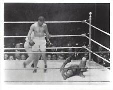 JACK DEMPSEY vs LUIS FIRPO 8X10 PHOTO BOXING PICTURE