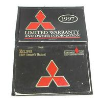 1997 Mitsubishi Eclipse Factory Original Owners Manual Portfolio #14