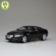 1/43 BMW 650i Cabrio Diecast Car Model Black