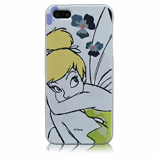 For iPhone 4 4S Disney Tinkerbell Fairy Flowers TPU Silicone Cute Case Cove