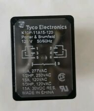 Tyco Electronics Potter & Brumfield K10P11A15-120 Relay 120V