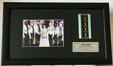 Star Trek THE NEW GENERATION Signed repro Limited Edition Filmcell Memorabilia