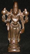 Traditional Indian Ritual Bronze statue God Vishnu Rare