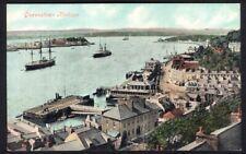 Queenstown Harbour, County Cork. Pre-1914 Vintage Postcard. Free UK Post
