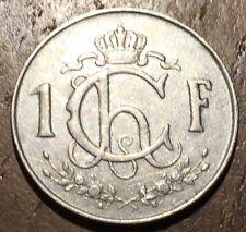PIECE DE 1 FRANC LUXEMBOURG 1953 (306)