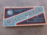 ancien rasoir rolls razor england avec boite