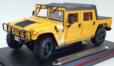 Maisto 1/18 Scale Model Car 31859 - Hummer Soft Top - Yellow