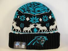 huge selection of 5d15a a1d3d Carolina Panthers NFL New Era Cuffed Knit Hat Team Mooser