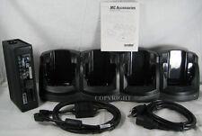 Symbol Motorola 4 Slot Ethernet Cradle Mc70 Mc75 Mc75A Charger Crd7X01-4000Er