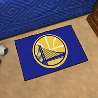 """NBA - Golden State Warriors Durable Starter Mat - 19"""" X 30"""""""