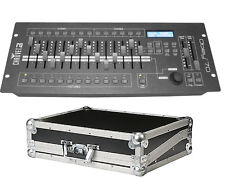Chauvet OBEY 70 DMX Controller & FLIGHTCASE pacchetto DJ Stage Lighting scrivania