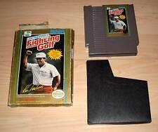 Nintendo NES Spiel Game Modul - Lee Trevino's Fighting Golf mit Hülle