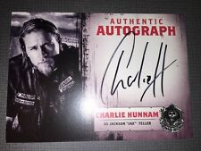 Sons Of Anarchy Trading Cards Autograph Card Of Charlie Hunnam As Jax Teller.