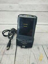 Hp iPaq Hx2495B Pocket Pc Pda Hstnh-L05C-Wl with Dock - Untested