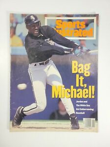 March 14, 1994 Sports Illustrated MICHAEL JORDAN Cover (Chicago White Sox)