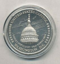 """1984 Washington D.C. """"Free the Eagle"""" 1 oz .999 Fine Silver Round Exact Shown"""