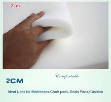 """Foam Rubber Slab High Density Foam Upholstery Foam sponge foam 2cm thick 60""""x80"""""""