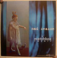 Matchbox Twenty Poster Flat Mad Season 2-Sided 20 Matchbox20 Matchboxtwenty