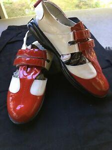 sandbaggers golf shoes womens 8.5