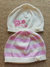 BNWOT Mothercare 3-6 Months Girls Hats