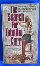 1964 THE SEARCH FOR TABATHA CARR by Richard Stern Paperback Macfadden 60-180 VG