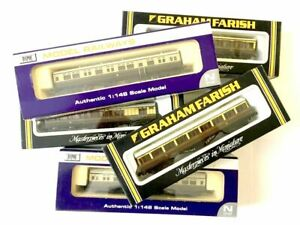 N Scale Dapol & Farish Coaches Boxed Pre-Owned VGC Choose From Drop-Down Listing