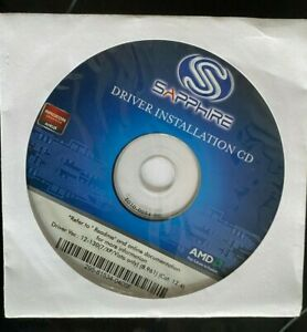 SAPPHIRE DRIVER INSTALLATION CD