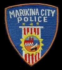 Marikina City Police Philippines Patch RP-1