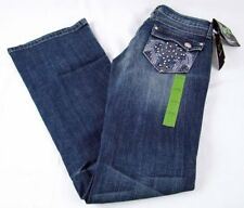 Womens Wrangler Rock 47 Great Falls Ultra Low Rise Boot Cut Jean NWT Size 0 x 34