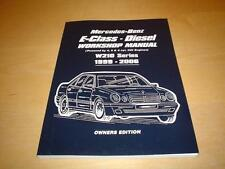 Mercedes Clase E W210 e 200 220 270 320 Diesel CDI Owners Manual Manual Libro