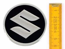 SUZUKI ★ 4 Stück ★ ALUMINIUM Ø60mm Aufkleber Emblem Felgenaufkleber Radkappen