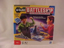 NEW Hasbro U-Build Battleship Tactical Combat Game Create Your Own Battle Ships